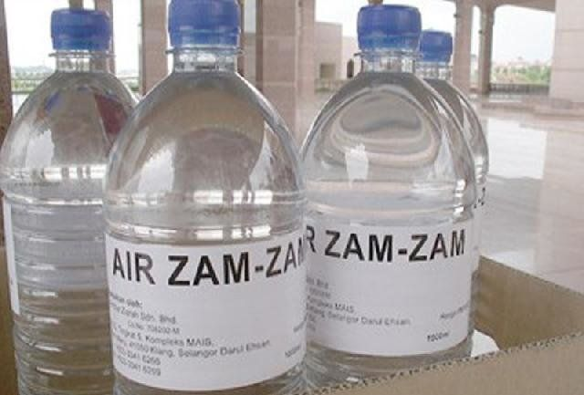 Manfaat Air Zam zam